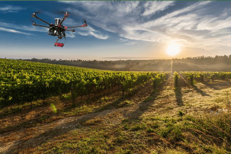 Drones en agricultura